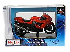 Maisto Kawasaki Ninja ZX-14 1 18 Die cast model bike great detail Special editi