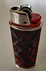 Bic Metallic Orange   case to suit your Bic large lighter enhance your lighter