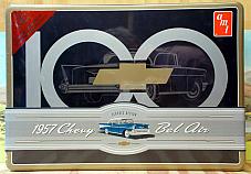 AMT 1/25 AMT741/06 1957 CHEVY BEL AIR, SPECIAL COLLECTORS EDITION, NIB