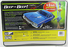 MPC 1974 PLYMOUTH ROAD RUNNER 1 25 SCALE MODEL KIT COLLECTORS TIN
