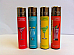 Clipper super lighter gas refillable collectable,set of 4 most reliable lighter