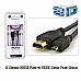 Sansai,2 Metres, High Speed HDMI Plug to HDMI Micro Plug Cable + 3D, 1080p