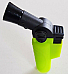 Jet  Flame Butane soft touch Green  hand held Torch Lighter powerful flame