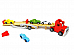 RED CAR CARRIER TRUCK BT8839 wooden  Rec. Age: 3 Years +