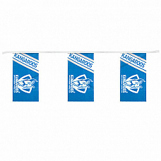 North Melbourne  AFL Bunting 5 Meters! Bunting  fast shipping