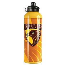 Hawthorn Hawks AFL Footy Aluminium Drink Bottle 750 ML fast shipping