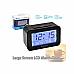 New Sansai Large Screen LCD Alarm Clock Snooze Function Auto Backlight CR070