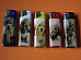 LIGHTERS ELECTRONIC GAS REFILLABLE DOG GREAT QUALITY ++