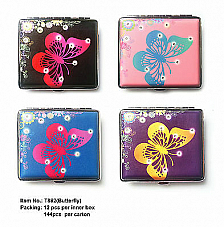 High quality Regal cigarette case butterfly style great value bonus lighter