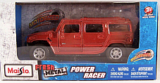 Maisto power racer Suv Hummer highly detailed motorized licenced product