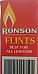 RONSON Firebronze Standard Lighter Flints  Pack of 9 suits all flint lighters