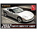 AMT 2012 Chevy Corvette Coupe  1 25 model kit Show Room Replicas fun easy build