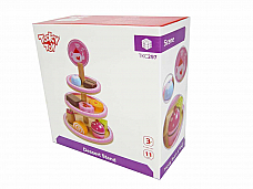 DESSERT STAND TKC297  Rec. Age: 3 Years +wooden set