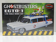 1:25 Ghostbusters Ecto-1 (Snap-Tite Kit) Polar Lights POL914  Free Shipping