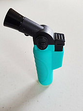 Jet  Flame Butane soft touch Blue hand held Torch Lighter powerful flame