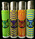 Clipper 8 x Trippy Cat, Refillable  Lighters (EB66) 2 sets