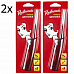 2x Redheads Refillable GasMatch Lighters suitable for BBQs Wood Fires Gas Burner