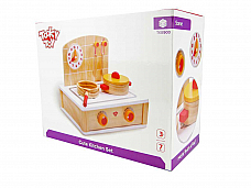 CUTE KITCHEN SET TKB900  Rec. Age: 3 Years + wooden set