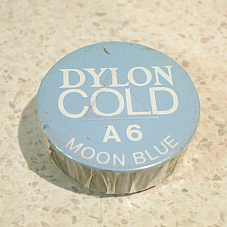 COLD WATER DYE DYLON, EASY TO USE IDEAL FOR CRAFTWORK  A10 Moon Blue