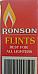 RONSON Firebronze Standard Lighter Flints 6 Packs of 9 suits all flint lighters