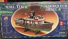 Lindberg Diesel Tug Model Kit 77221 New In Box NIB Sealed
