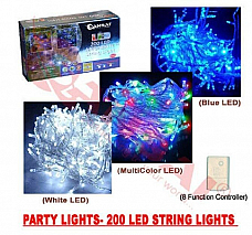 Sansai party lights 200 head leds with controller high quality