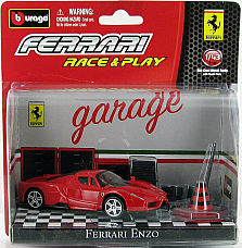 Bburago Race & Play  Ferrari Enzo limited edition collectable, licenced product