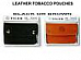 Genuine Leather Cigarette Tobacco Pouch Bag MRK/Zico great quality lot of two