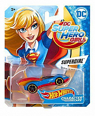 Hot Wheels DC Super Hero Girls Supergirl Character Car collectable