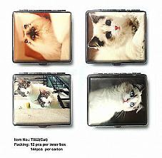 High quality Regal cigarette case cat style  value comes with a bonus lighter