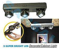 Sansai  LIGHT FITTING LED PORTABLE, USE IT WHERE YOU NEED LIGHT