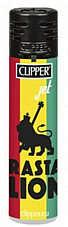 clipper lighter New Jet flame Rasta Lion  genuine product Rare Collectable