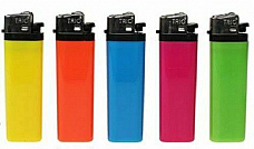 Disposable Normal Flame Bulk 5 Pack Lighters