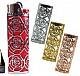 Bic Funky case to suit your Bic maxi lighter enhance your lighter Rose x 4
