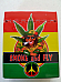 Aztec cigarette box 25s quality hinged push to open Rasta leaf
