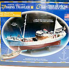 North Atlantic Fishing Trawler 1/90 Model Kit by Lindberg