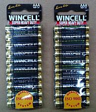 Wincell AAA Batteries - AAA 20 PCS Factory Sealed BULK