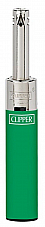 Clipper mini tube refillable electronic utility lighter Clipper quality Green