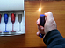 novalty gas refillable electronic lighter goblet shaped
