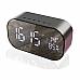 Sansai Multifunction Rechargeable Bluetooth Speaker/Clock/Radio Aux/USB Input