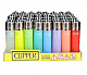 CLIPPER LIGHTERS wholesale  48 Translucent collectible comes with bonus led li
