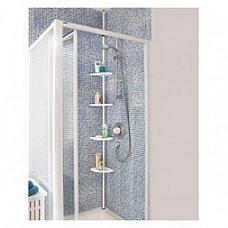 Bathroom / shower 4 shelf  adjustable Bathroom pole