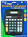 Large Black Desktop Calculator Tilting 8 Digit Display Office Home Business