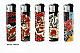 LIGHTER ELECTRONIC GAS REFILLABLE retro lady   x2 fast free postage limited edit