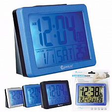 Sansai CR-075E LCD ALARM Large LCD Backlight Display Alarm Clock with Calender
