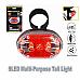 Sansai, 9 LED MultiPurpose Tail Light,Compact rear light, 7 mode multipurpose