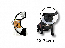 Dog  protection cone collar xtra small 1824 cm