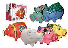 PAINT A PIGGY BANK  kit TK39413 terracotta