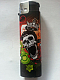 Zico LIGHTER ELECTRONIC GAS REFILLABLE  skull and crown QUALITY free postage ++