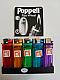 Lighters POPPELL flint wheel disposable quality lot of twenty value